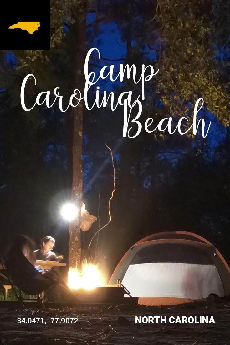 Pinterest Pin of Carolina Beach State Park, North Carolina