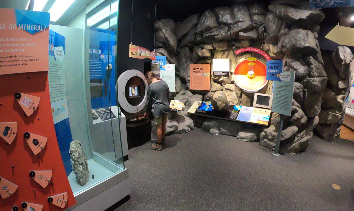 Museum of North Carolina Minerals on the Blue Ridge Parkway near Black Mountain
