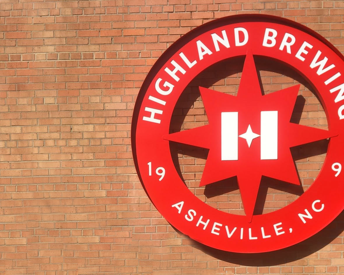 Highland Brewing Company tour in Asheville, North Carolina