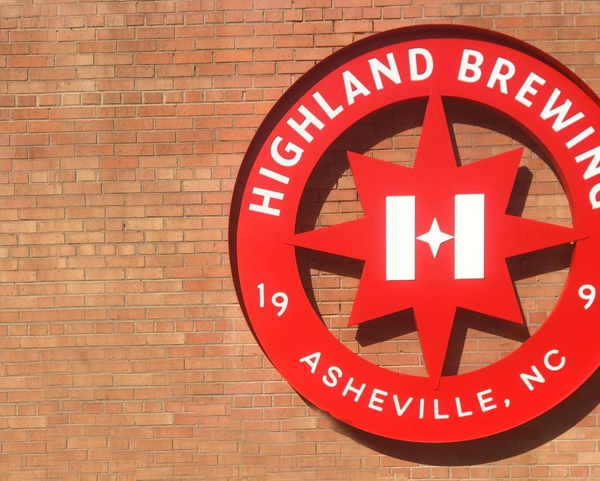 Highland Brewing Company tour in Asheville, North Carolina