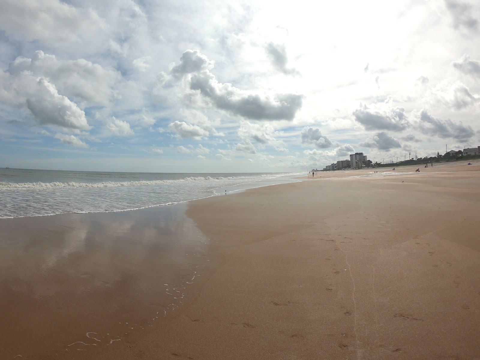 Beach on scenic highway A1A byway florida