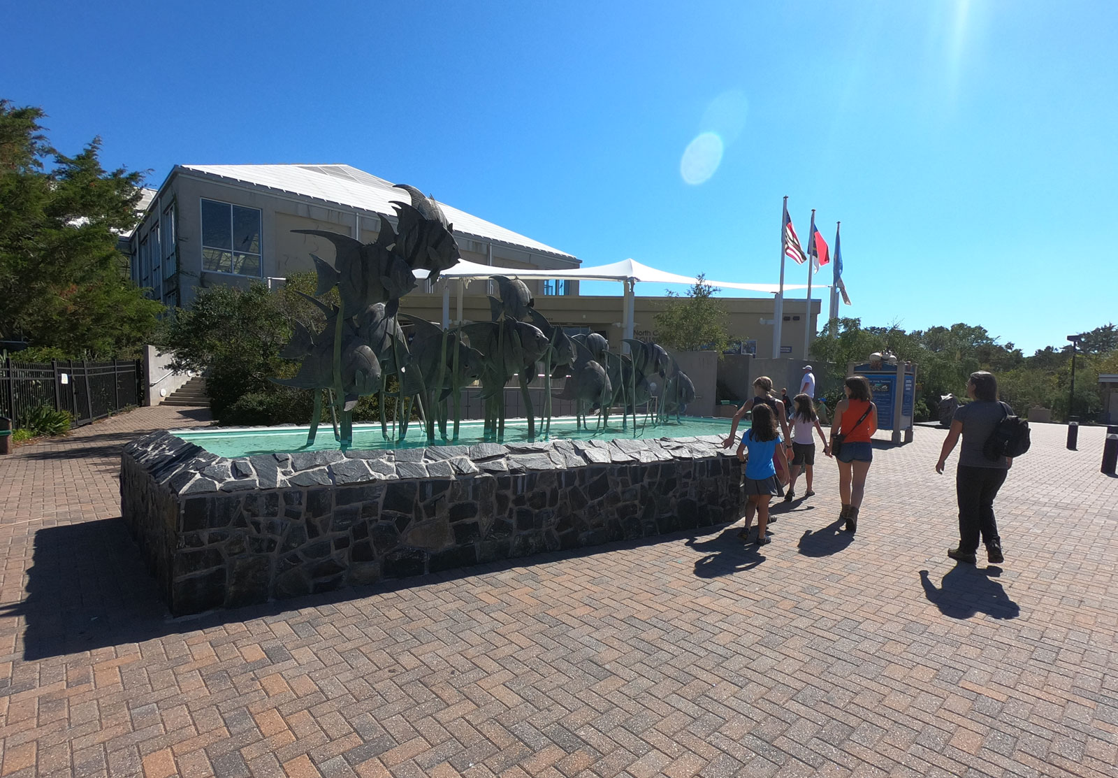 The North Carolina Aquarium at Fort Fisher