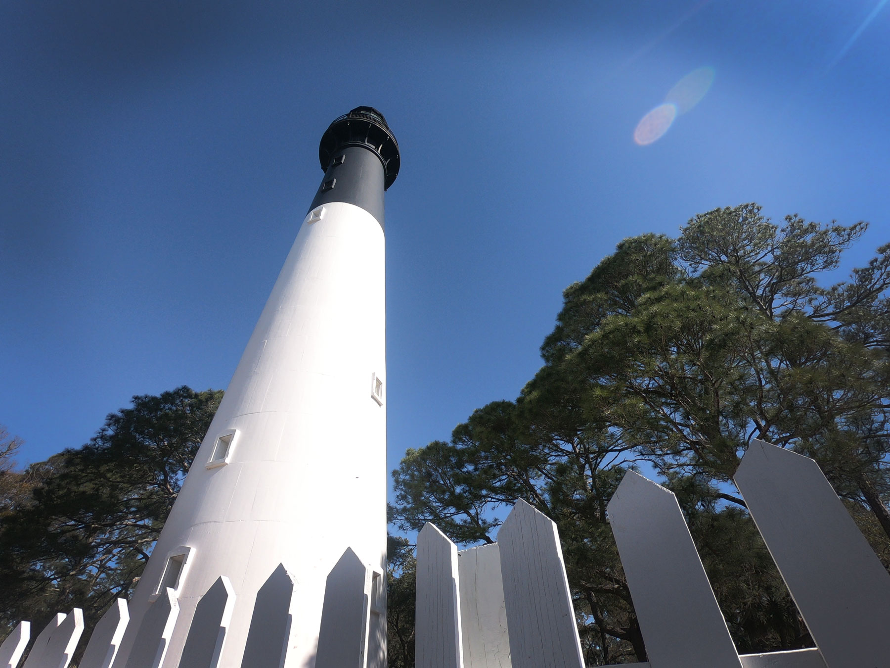 The Lighthouse at Hunting Island State Park in South Carolina