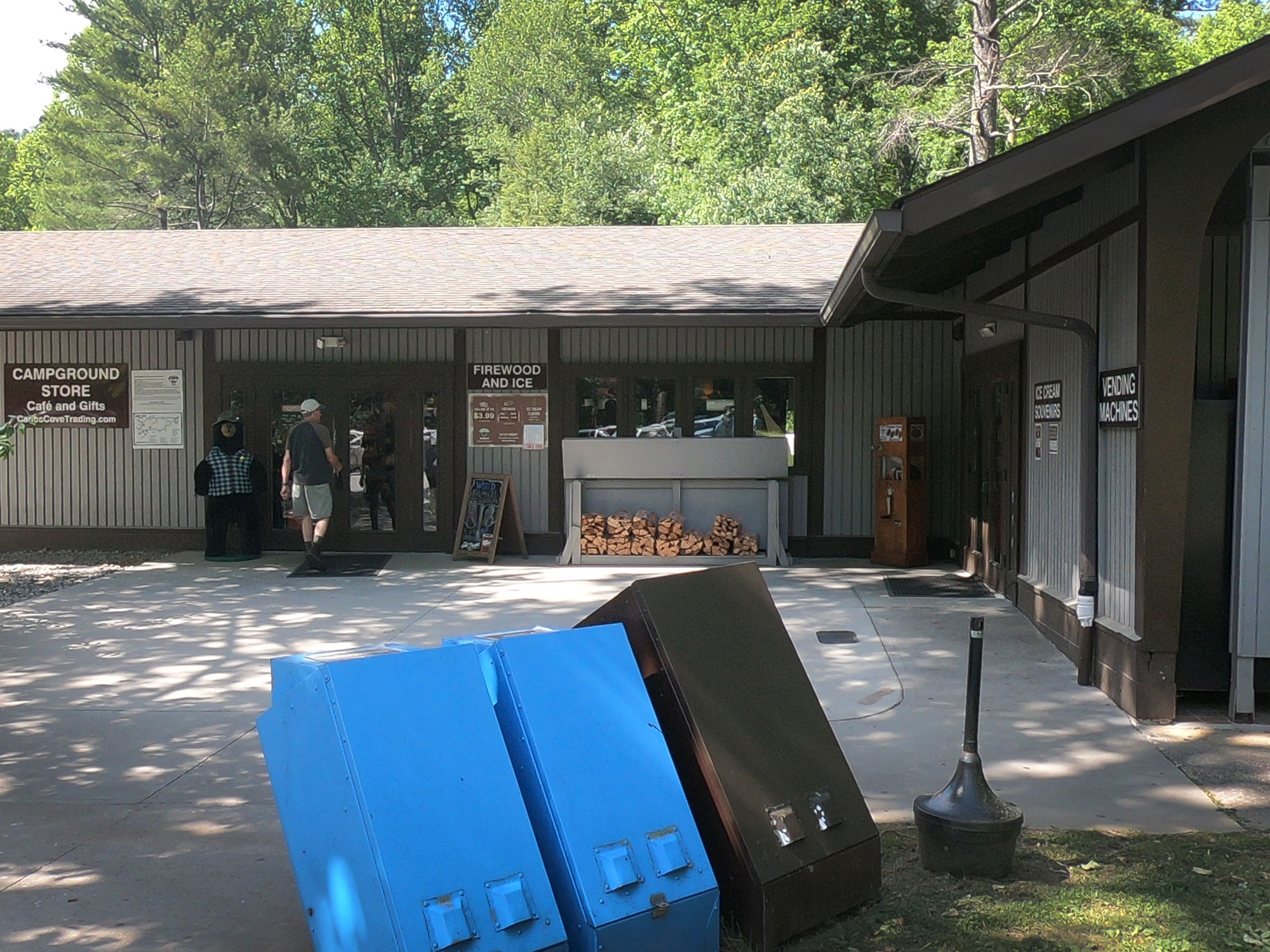 Cades Cove Trading Post Campground Store at Great Smoky Mountains National Park, Tennessee