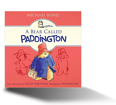 A Bear Called Paddington audiobook cover