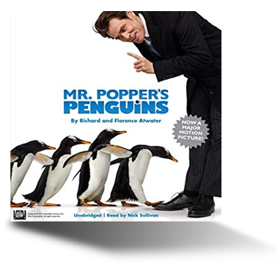 Mr Popper's Penguins audiobook cover