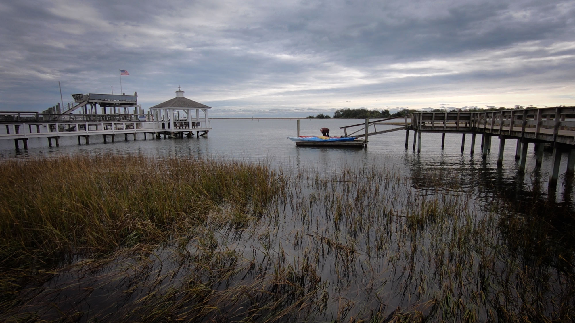 Trails End Public Boat Ramp for Masonboro Island Access, North Carolina