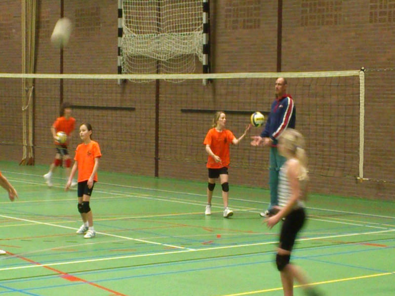Schoolvolleybalnet