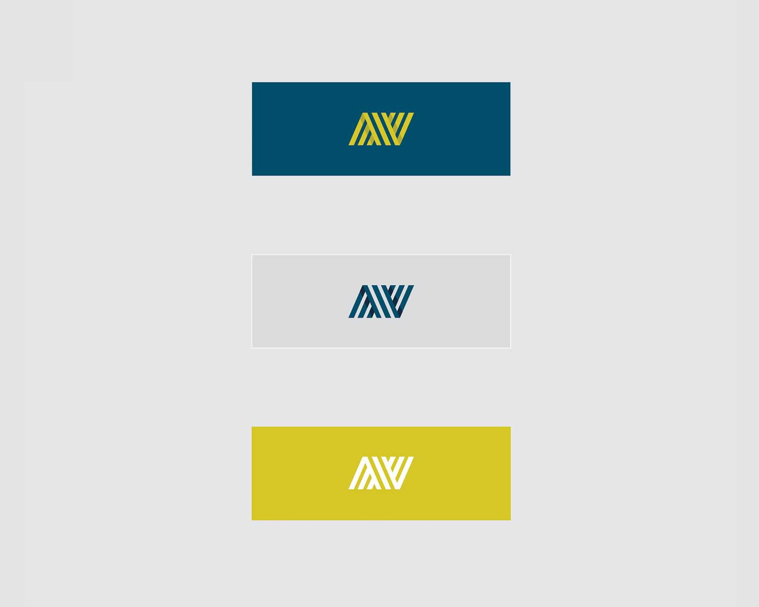 Color palette design for nuvero tax and accounting in calgary of a navy, grey and chartreuse colour by studio forum in calgary