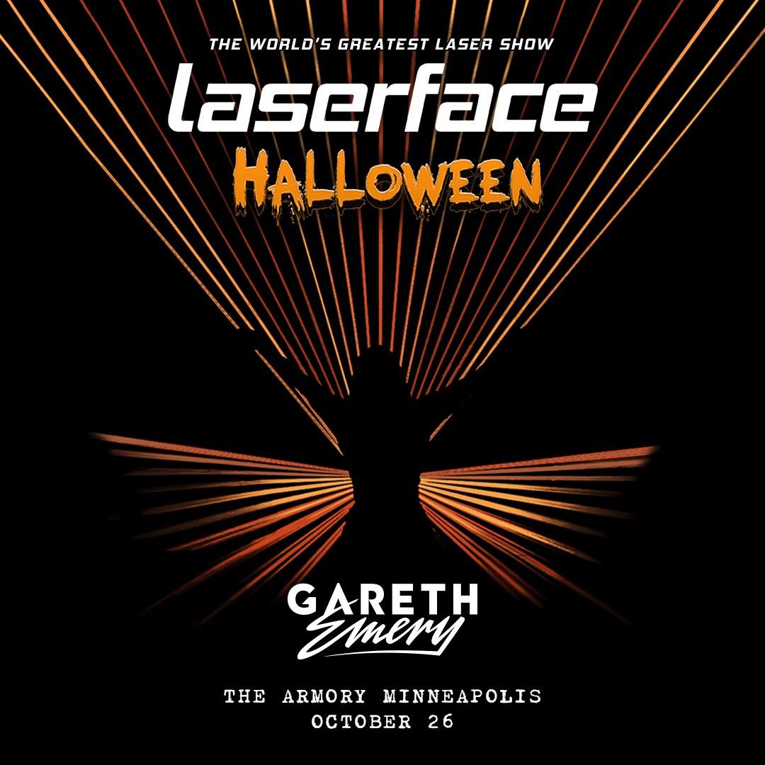 Laserface Halloween