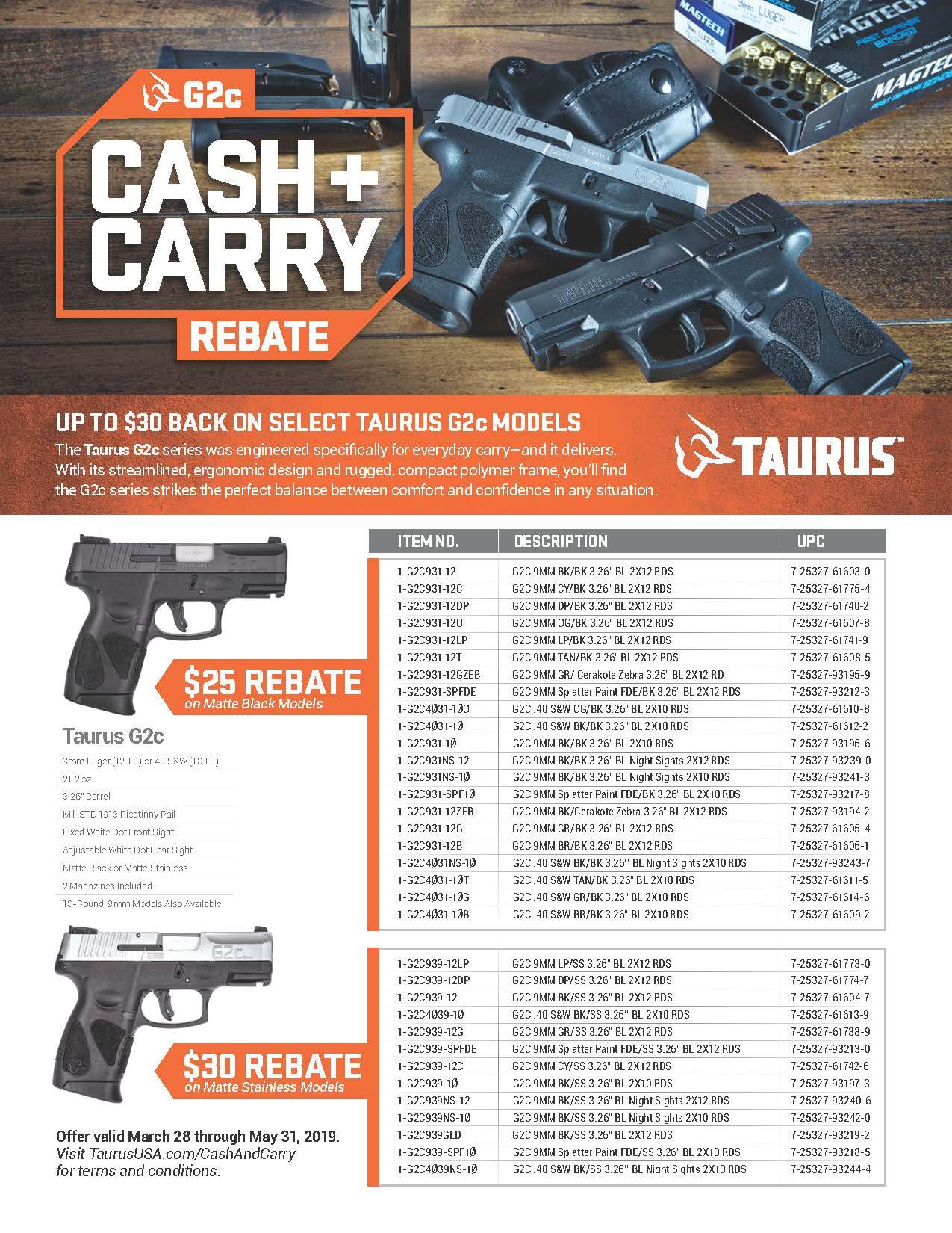 Taurus G2c Trigger Upgrade
