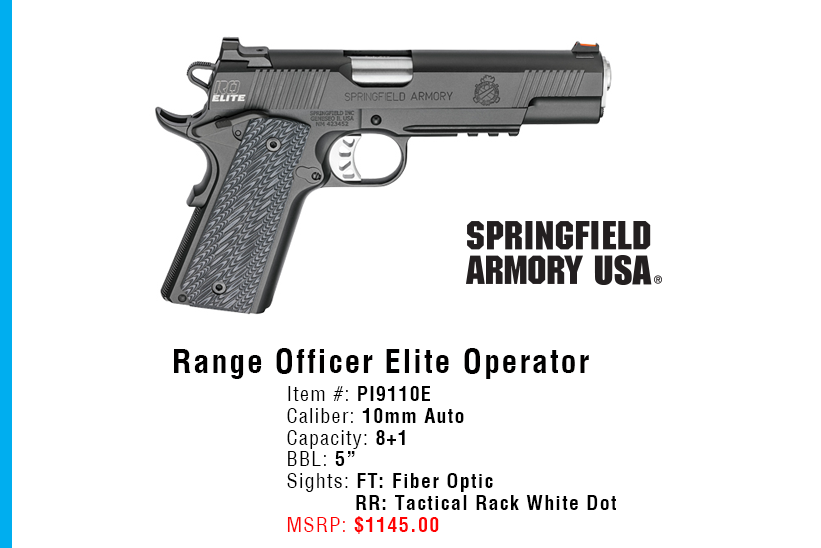 Great Gun Giveaway - Springfield Armory
