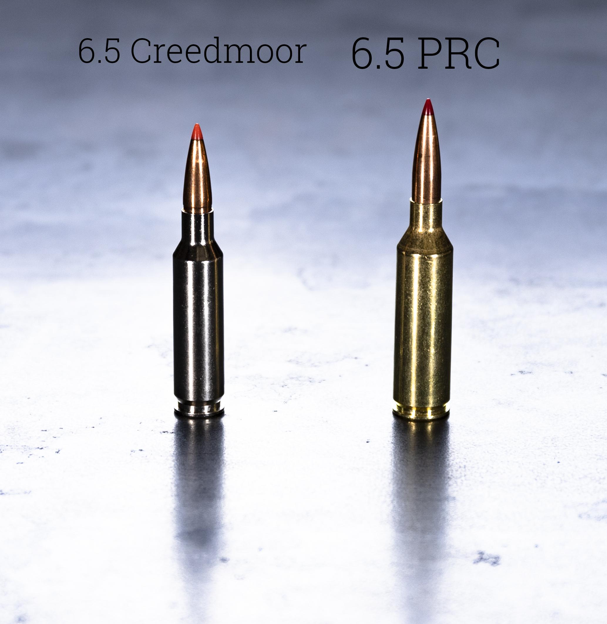 6.5 creedmoor vs 6.5 PRC