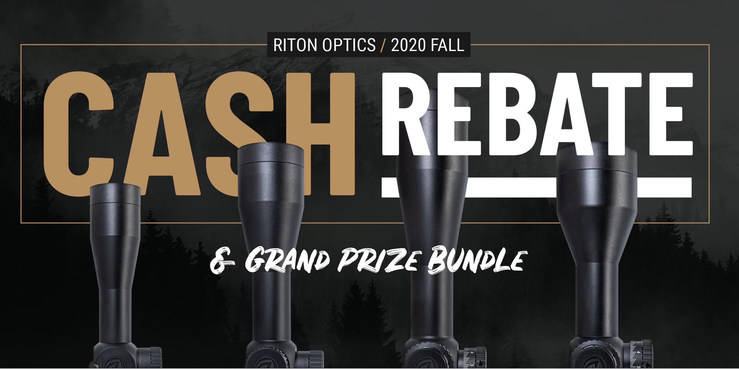 Riton Rebate Prize Banner