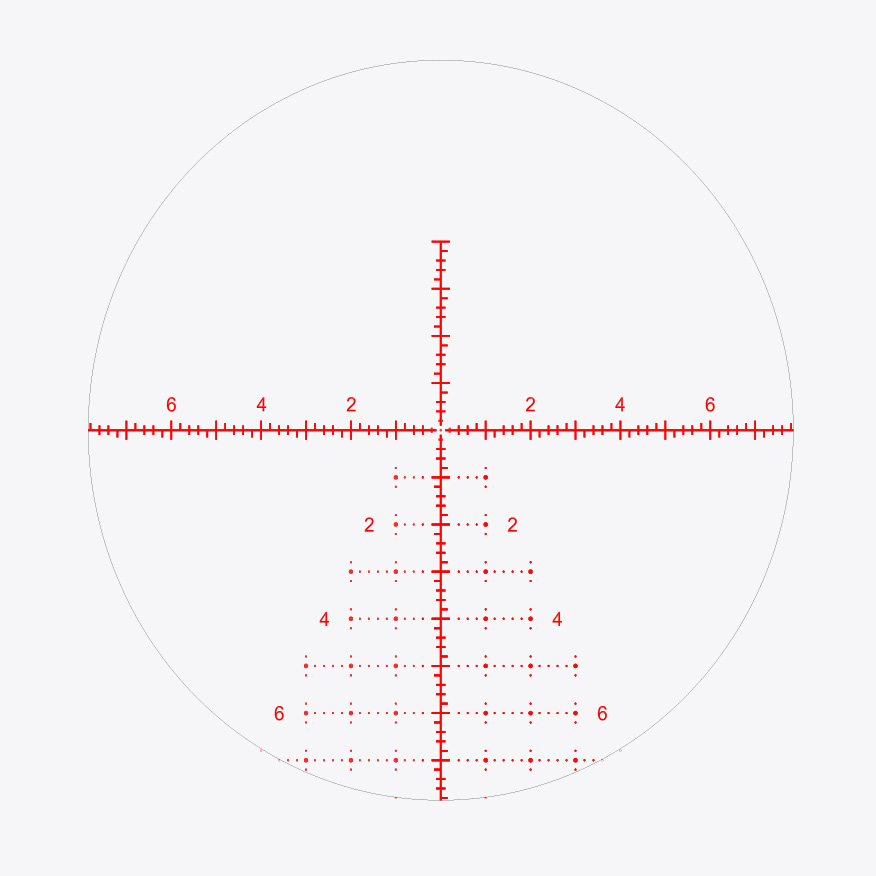 X7 Conquer reticle