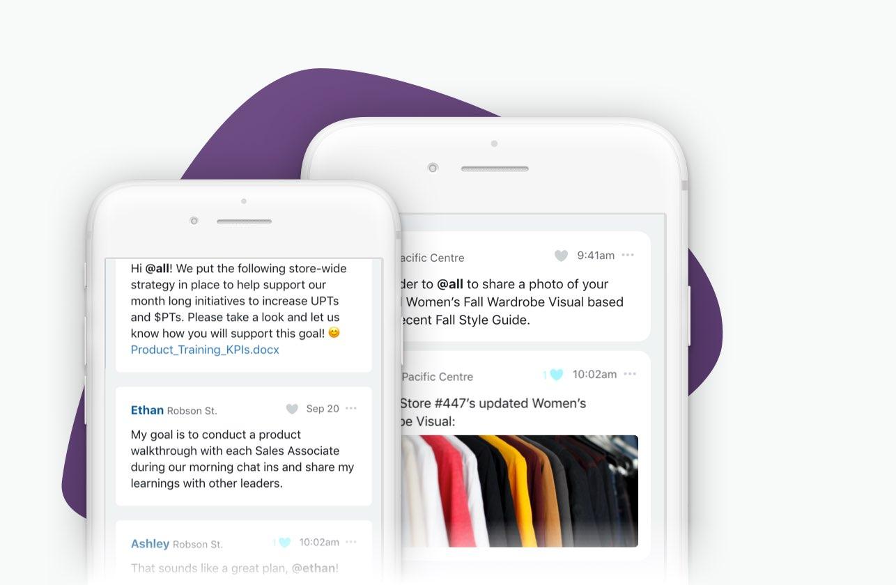 Retail communications tools