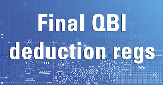 Final QBI Deduction Regs