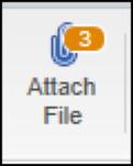 QuickBooks - Attache File button