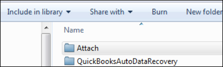 QuickBooks - Include in Library