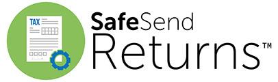 SafeSend Returns logo