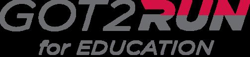 Got2Run for Education logo