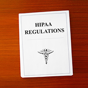 HIPAA Regulations book