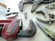 Several types of pliers