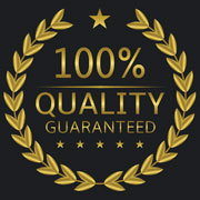 100% Quality Guaranteed emblem