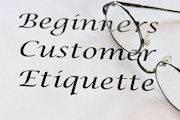 Beginners Customer Etiquette
