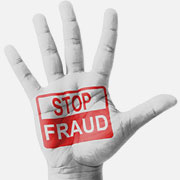 "Hand labelled ""Stop Fraud"""