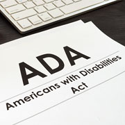 Americans with Disabilities Act - ADA