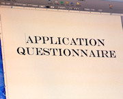 Application Questionnaire