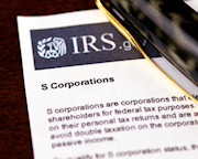 IRS - S Corporations