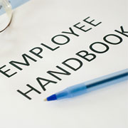 Employee Handbook and Pen