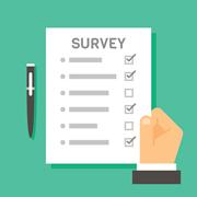 Illustration of a survey
