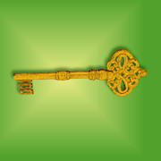 old fashion key