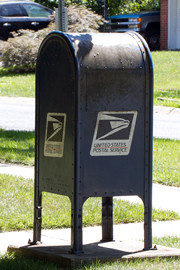 Post office mail box