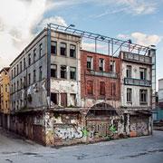 Old rundown building in need of repairs