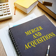 """Book titled """"Merger and Acquisitions"""""""
