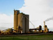 Plant storage silos