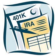 401(k) & IRA document illustrations