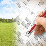 Architect's blueprints