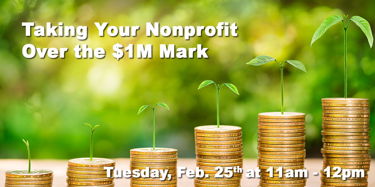 Taking Your Nonprofit Over the $1 Million Mark