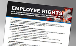 Employee Rights Under the Families First Coronavirus Response Act