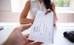 Receiving an Economic Impact Payment check
