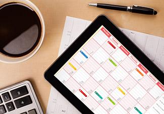 Calendar - Due Dates Extended