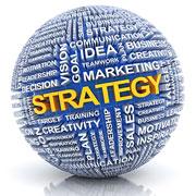 "Strategy ""Keyword Visualization"" sphere"