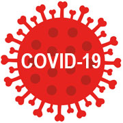 Illustration of the COVID-19 virus