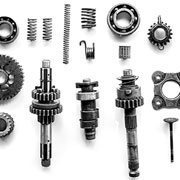 Manufacturing parts - cogs, springs