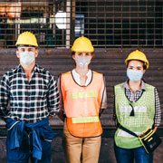 3 construction workers